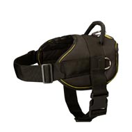 All Weather Extra Strong Nylon Dog Harness for Tracking/Pulling