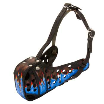 Dog Muzzle for Attack Training